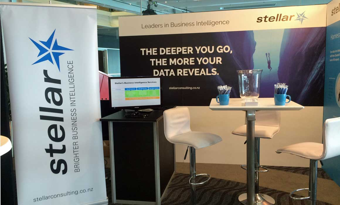 Stellar's booth at the Internet of Things conference