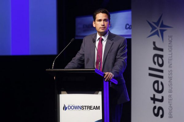 Hon Simon Bridges, Minister of Energy and Resources, speaking at Downstream 2016