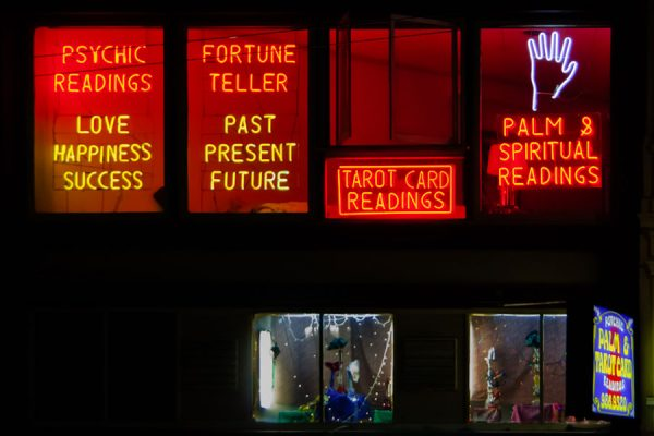 fortune teller signs