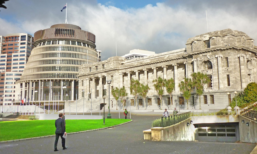 New Zealand parliament and government building