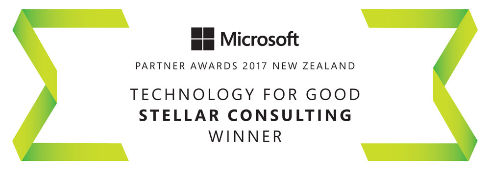 Technology For Good award to Stellar Consulting