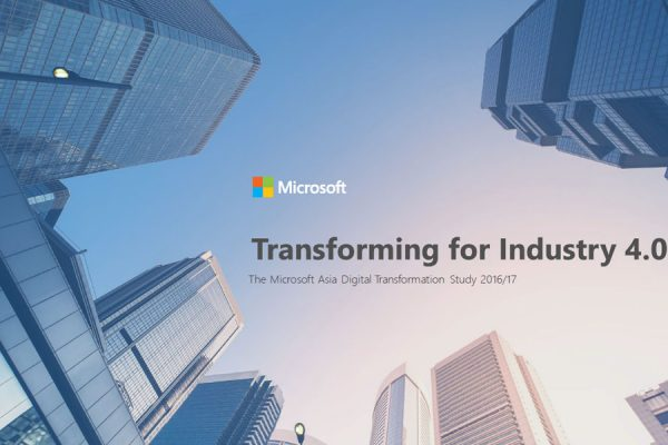 Transforming for Industry report cover