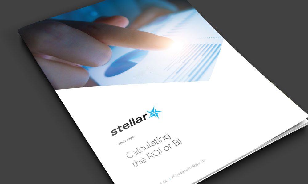 Free white paper - Calculating the ROI of BI