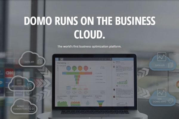 Domo runs on the Business Cloud