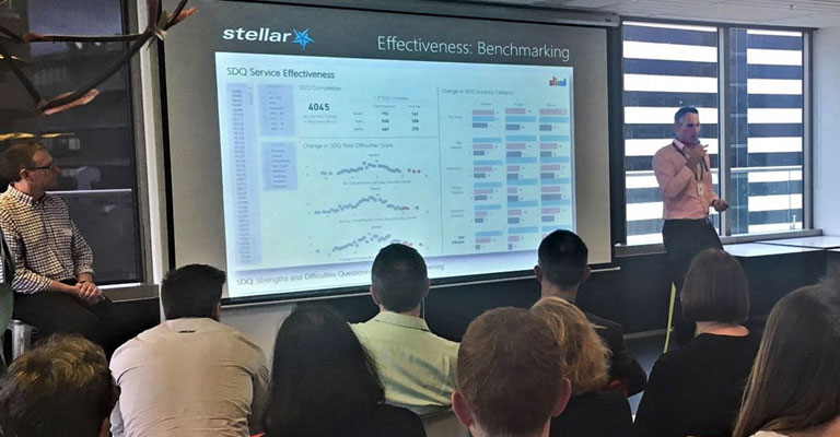 Stellar Consulting Partner Travis Barker shows how Stellar has helped Stand Children's Services do more with its data.